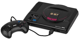 Consola Mega Drive original lanzada en Japón