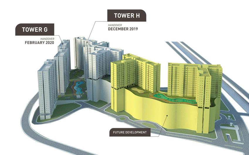 site-plan-Prajawangsa-city-cijantung