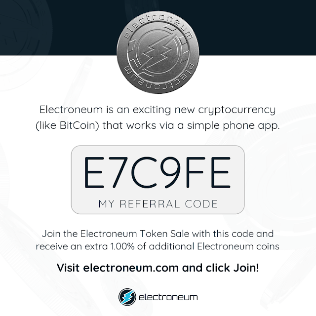 ELECTRONEUM ICO IN THE WORLD ?