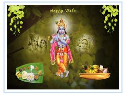 best happy vishu facebbok profiles pictures