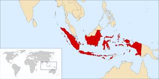 lokasi negara indonesia