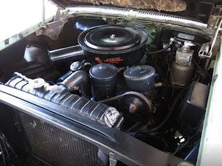 1958 Cadillac Coupe de Ville Engine