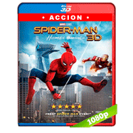 Spider-Man: De regreso a casa (2017) 3D SBS 1080p Audio Dual Latino-Ingles