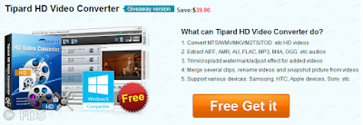 Tipard HD Video Converter Serial Free