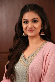 Keerthy Suresh in Pink Dress for Pandem Kodi 2 Promotions 4