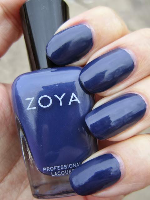 Concrete And Nail Polish Zoya Sailor