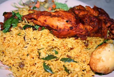 Chicken Pulao Yellow Rice Recipe