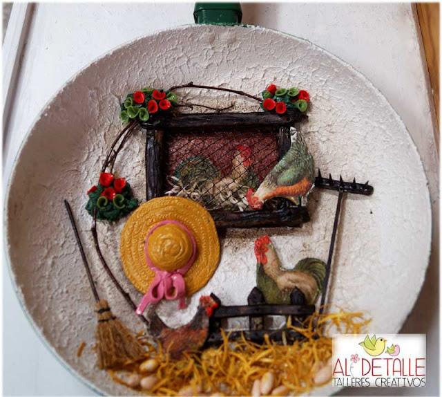 Decorar Tejas Antiguas Con Pasta De Papel