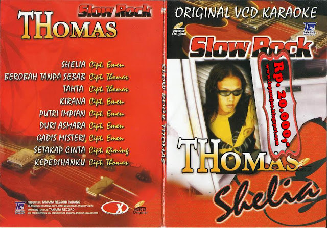 Thomas Arya - Shelia (Album Slowrock)