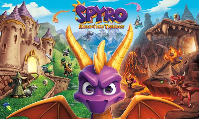 """Spyro Reignited Trilogy"" Hot game phiêu lưu Platform 2018"