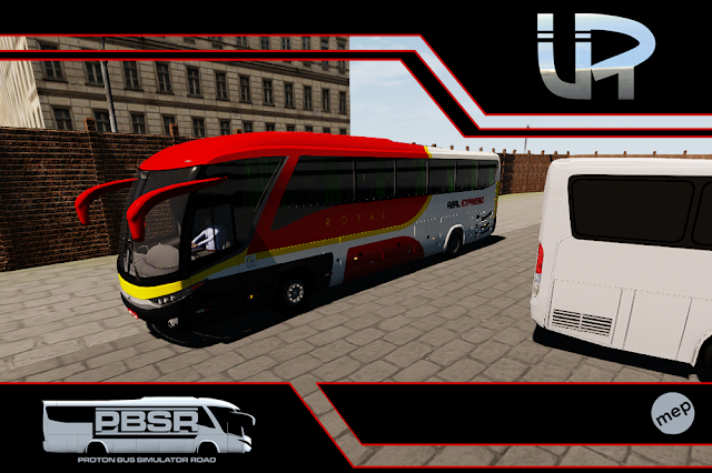 Skin Proton Bus Simulator Road - G7 1200 MB O-500 RS Viação Real Expresso