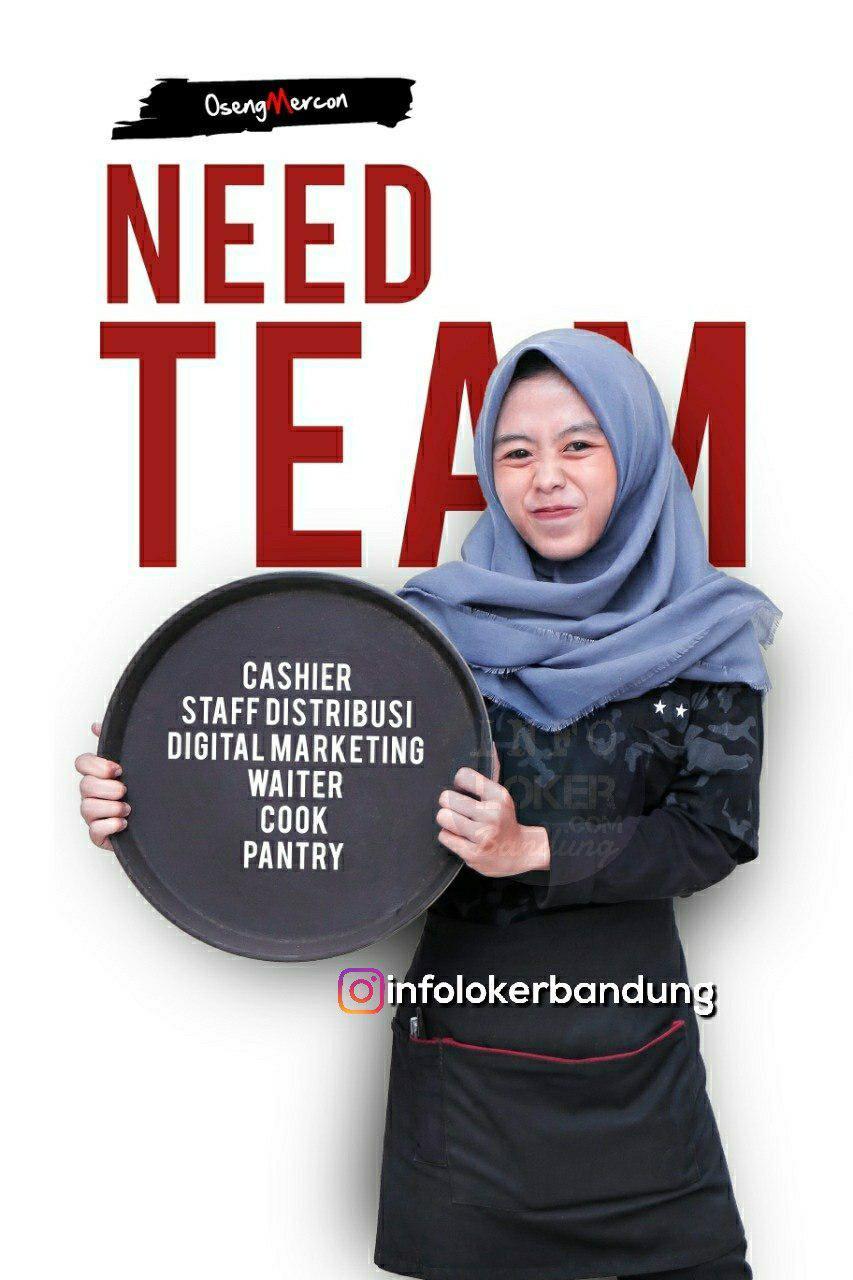 Lowongan Kerja Oseng Mercon Bandung Desember 2018