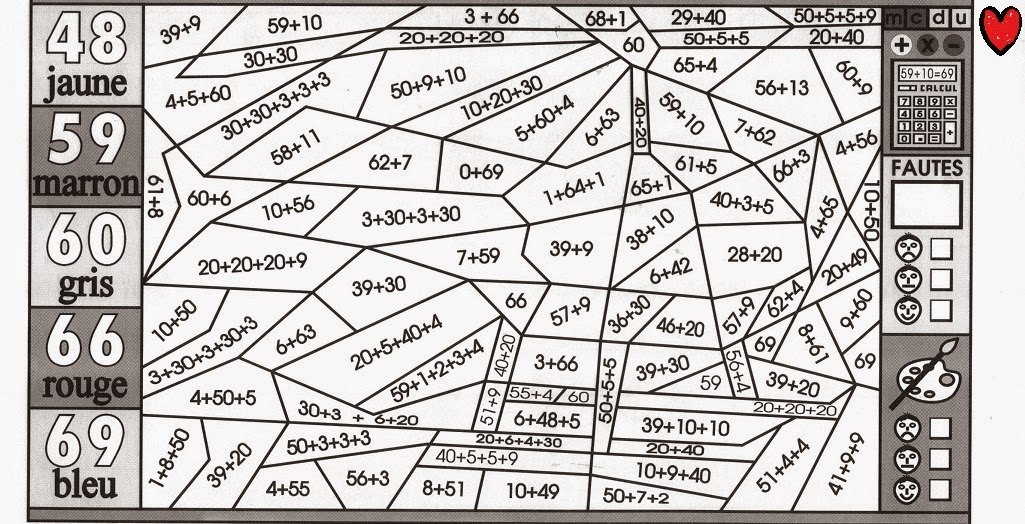 """Search Results for """"Coloriage Magique Ce2 Maths"""" - Calendar 2015"""