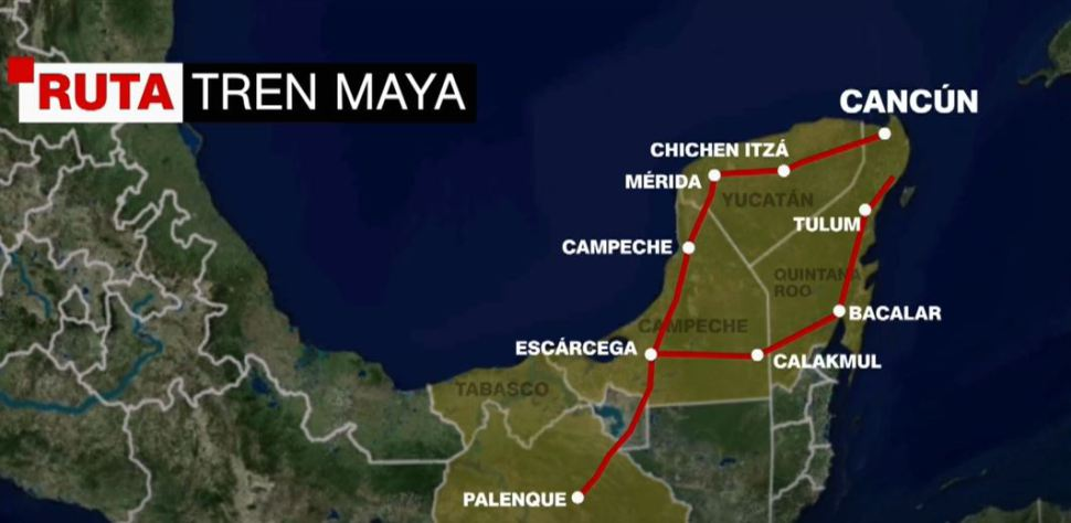 Especulación por el Tren Maya, difícil de controlar: Fonatur