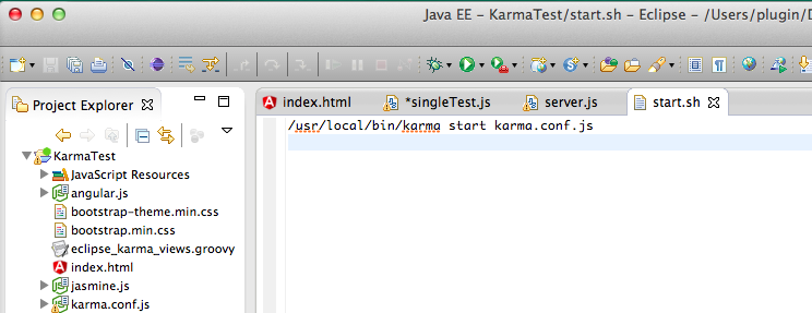Dinis Cruz Blog: Creating an Eclipse UI to run AngularJS e2e
