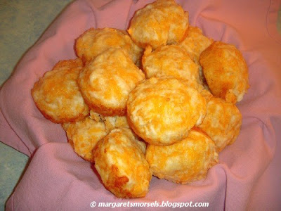 Margaret's Morsels | Garlic Cheese Biscuits