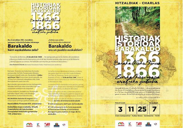 Ciclo de charlas sobre Barakaldo organizadas por Sasiburu