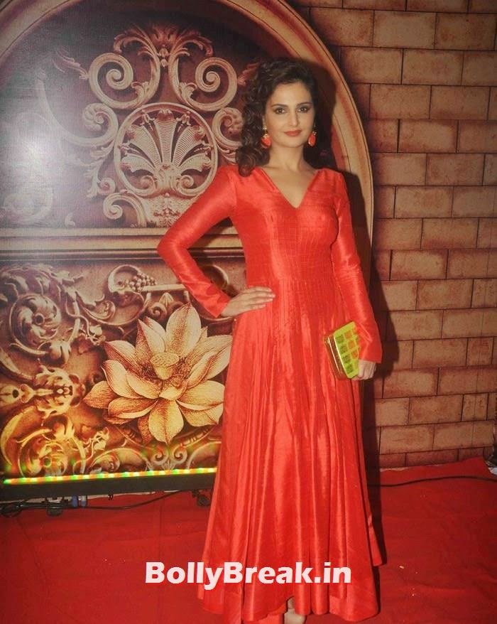 Monica Bedi, Zee Rishtey Awards 2014 Photo Gallery