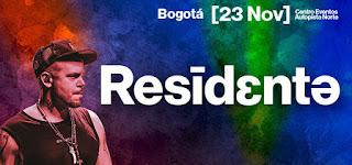 Concierto de RESIDENTE en Bogotá 2018
