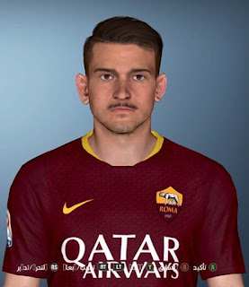PES 2017 Faces Alessandro Florenzi by Facemaker Ahmed El Shenawy