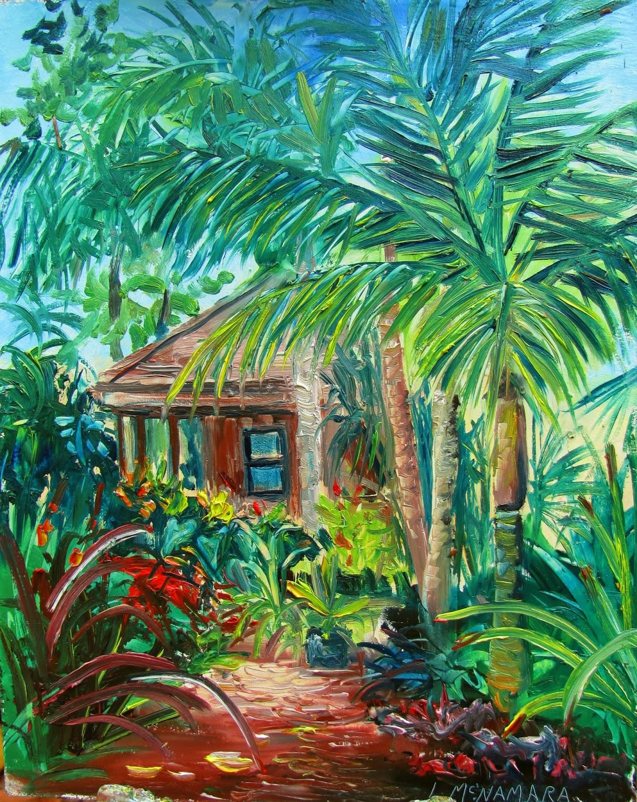 Heathcote Botanical Gardens: Lori's Stormy Art And Daily Paintings: 1594 SOLD Satake