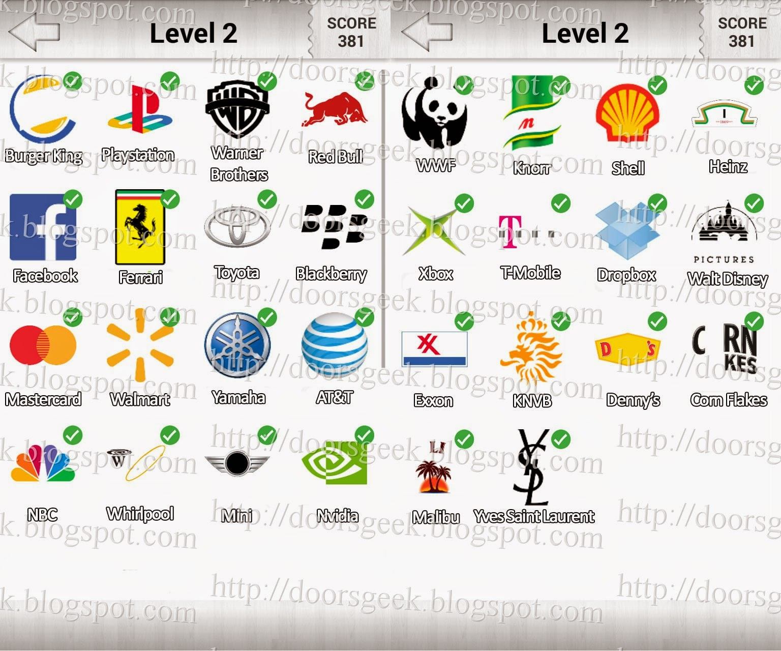 logo quiz answers level 2 for blackberry ma