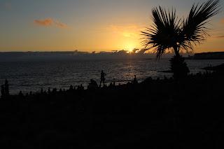 Tenerife, sunset, picturesque