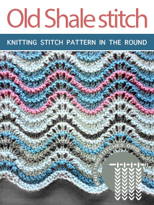 Knitting Stitch Pattern in the round