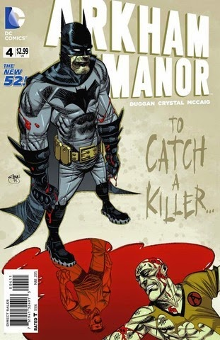 arkham manor catch a killer