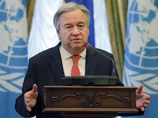 UN chief urges 'maximum restraint' from Russia, Ukraine