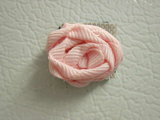 homemade rose magnets