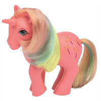 My Little Pony Classic Series Retro Pinwheel Year 3 Rainbow Pony