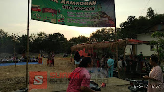 Gebyar Bazar Ramadan Kartar Satu Jiwa Desa Ngulanan