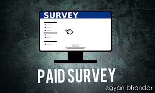 earn money online by doing paid survey