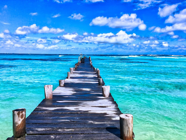 Beach Beautiful Bridge HD Wallpaper
