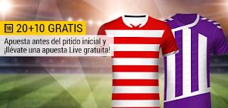 bwin promocion Granada vs Valladolid 9 febrero