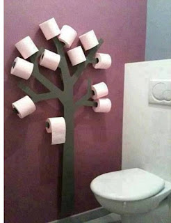 Creative Toilet Paper Tree