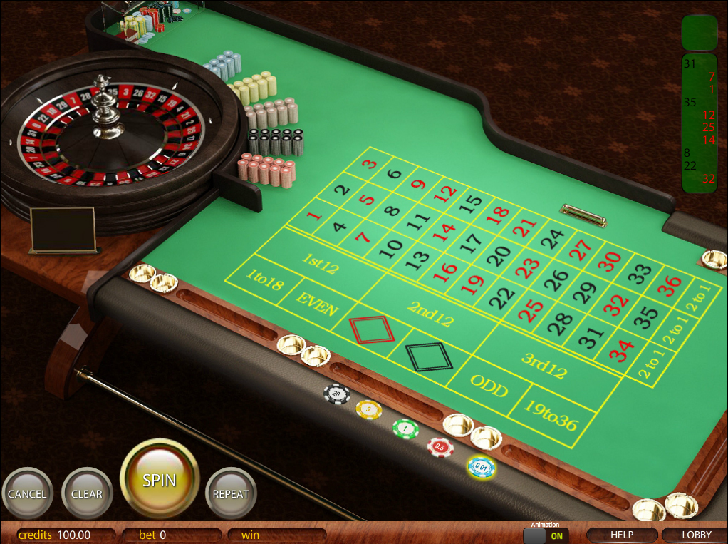 онлайн казино рулетка без зеро