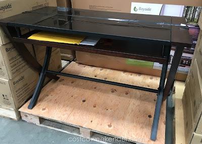 Bayside Furnishings 48 Inch Computer Desk Costco Weekender