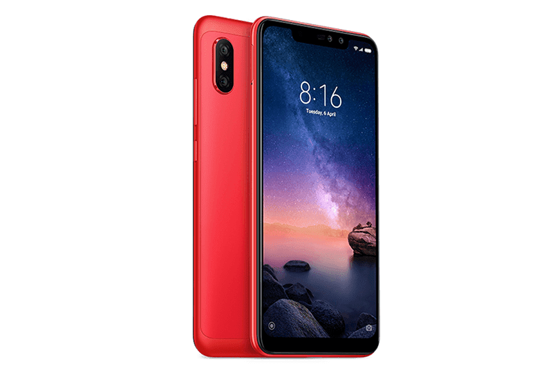 Red version of Note 6 Pro