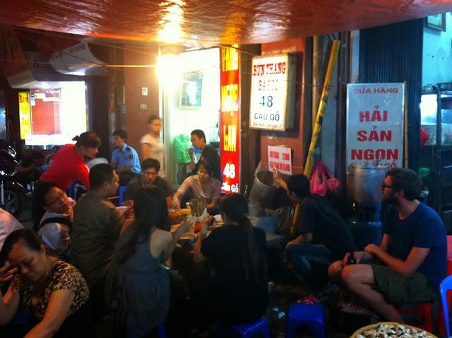 Street food on Hanoi's shortest street 2