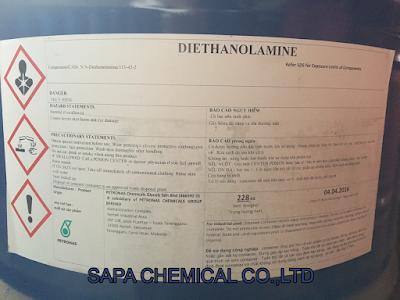 Dung môi Diethanolanime, DEA