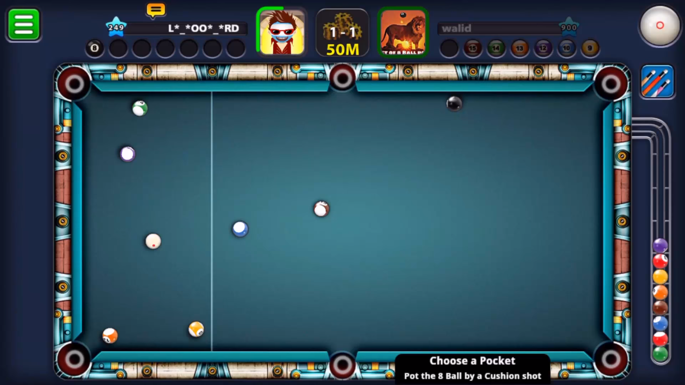 8 Ball Pool | Level 925 the Highest in the World(Walid damoni)