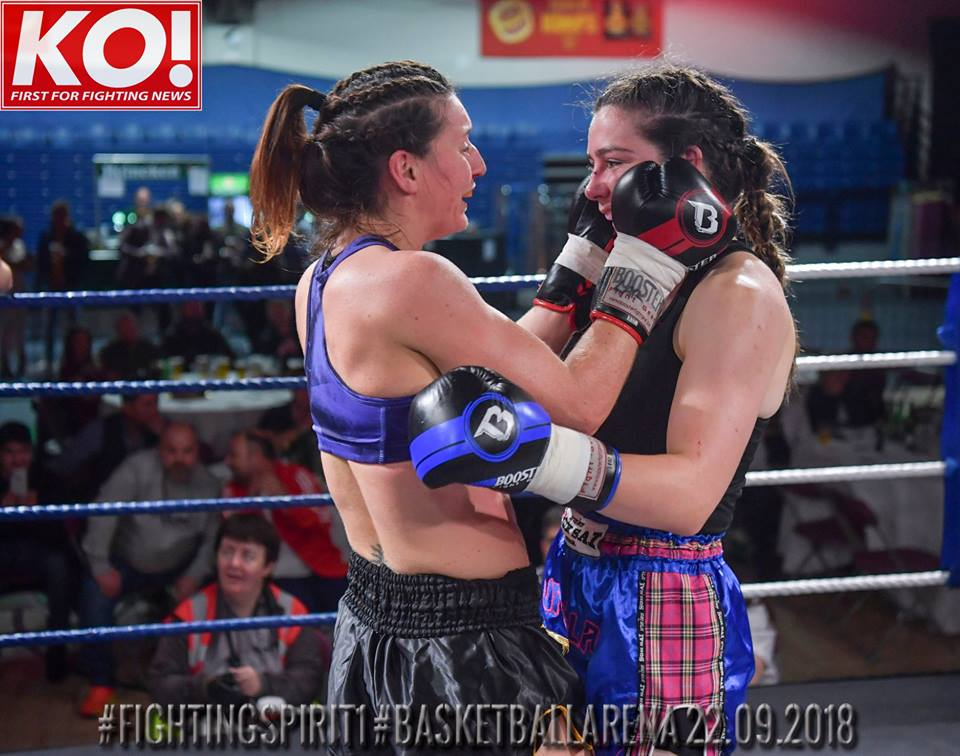 KO Media irish muaythai women fighting