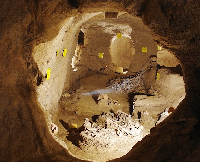 2,000 year old underground city unearthed in Iran