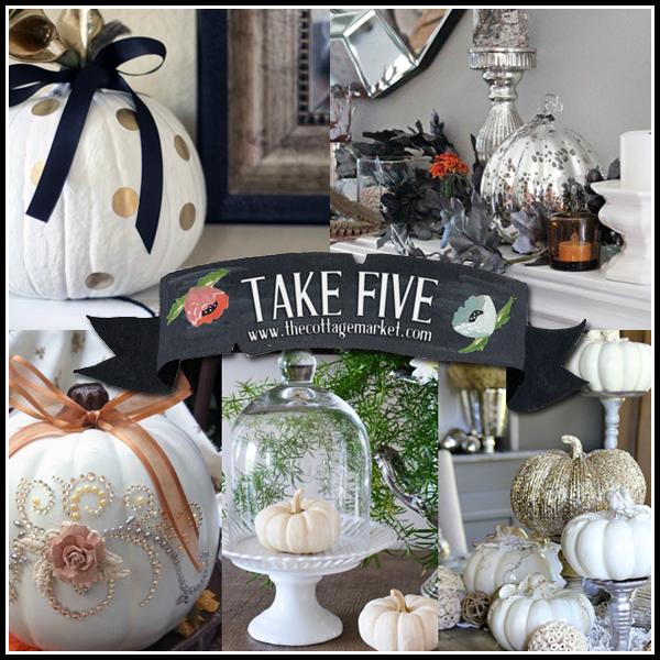 5 Glam Fall Decor Ideas The Cottage Market