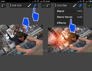 Tutorial edit foto manipulasi keren