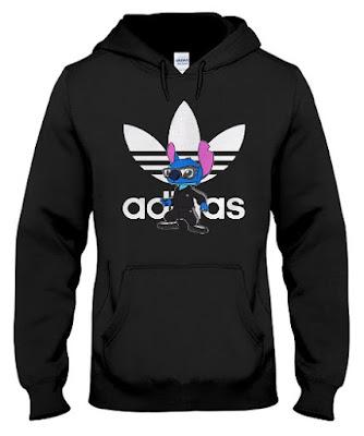 Stitch ADIDAS Hoodie Sweatshirt, Lilo and Stitch ADIDAS Hoodie Sweatshirt