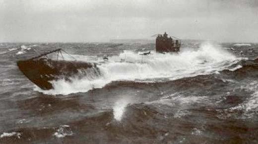 Submarino de la Primera Guerra Mundial fue