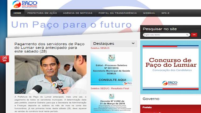 Prefeito Josemar (PSDB) antecipa pagamento de servidores para injetar recursos na economia local.